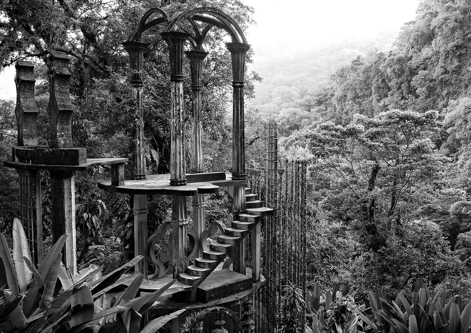 Las Pozas, the Surrealist sculpture garden of Edward James
